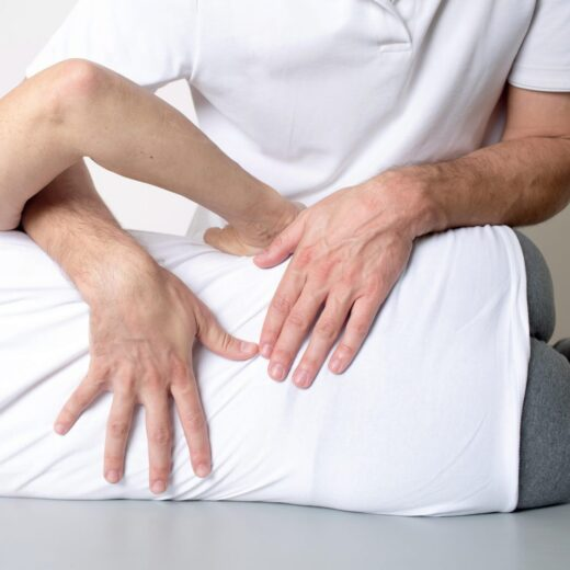 Chiropractor low back treatment